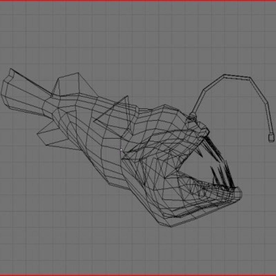 Angler Fish.rar royalty-free 3d model - Preview no. 9