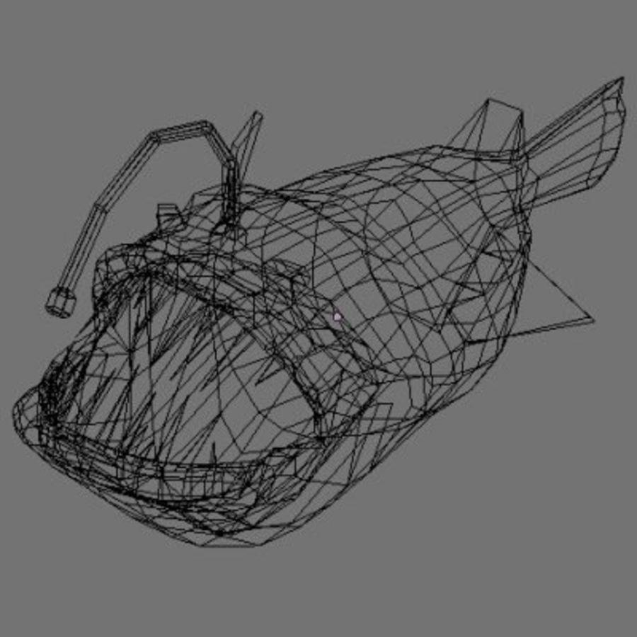 Angler Fish.rar royalty-free 3d model - Preview no. 11