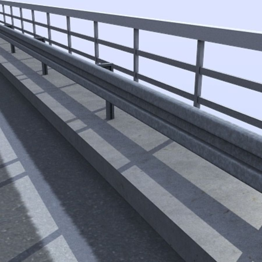 Overpass royalty-free 3d model - Preview no. 3