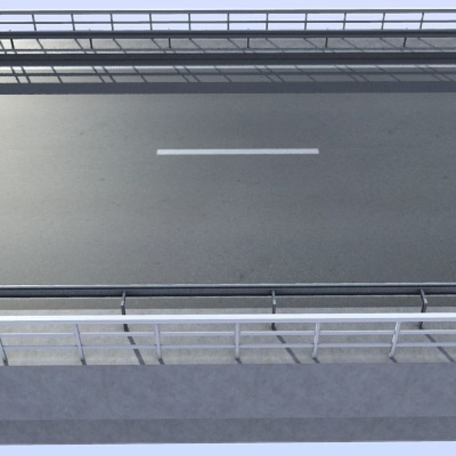 Overpass royalty-free 3d model - Preview no. 7
