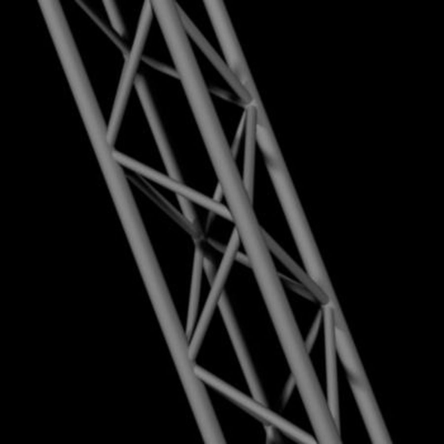 Truss 1 royalty-free 3d model - Preview no. 1