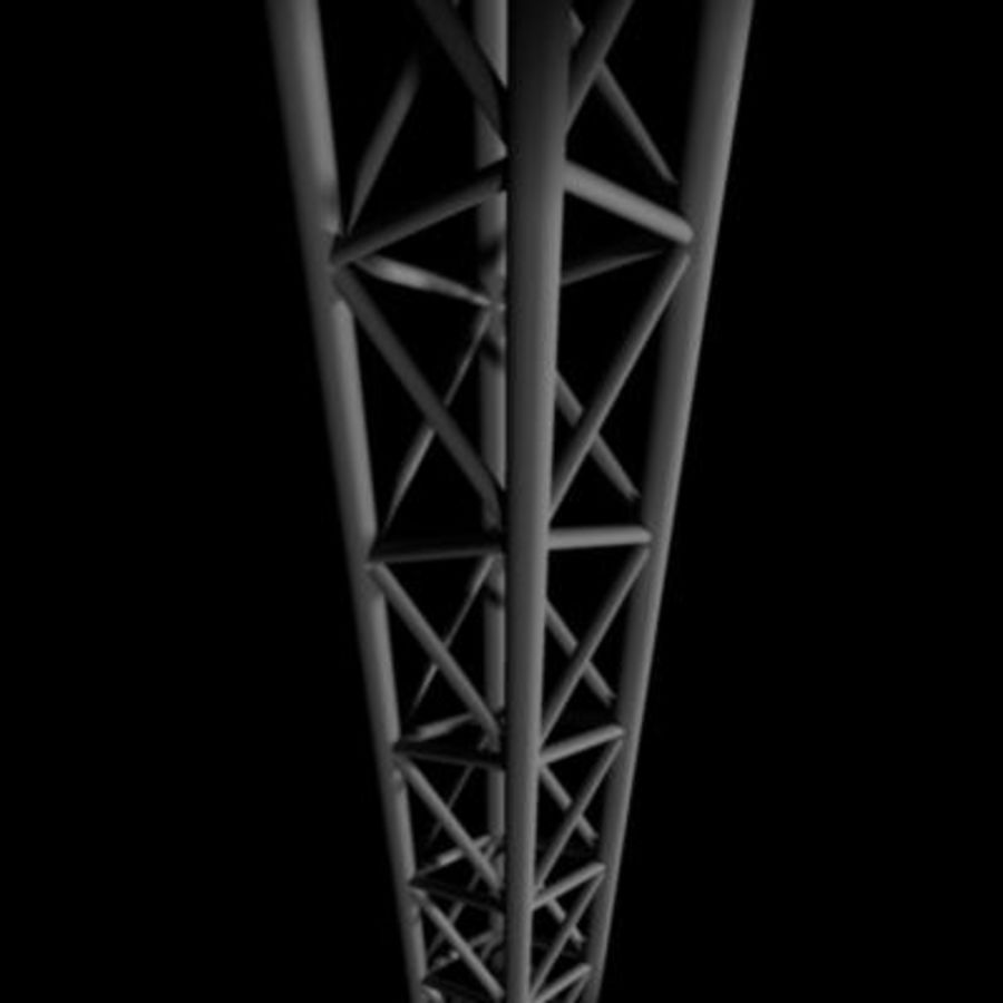 Truss 1 royalty-free 3d model - Preview no. 4