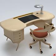 Yazı masası043 3d model