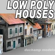 Düşük Poli Evler 3d model