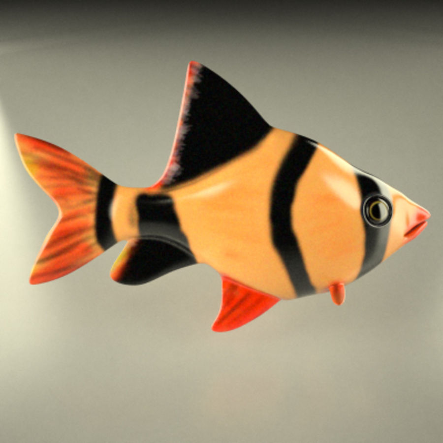 fish3 royalty-free 3d model - Preview no. 5