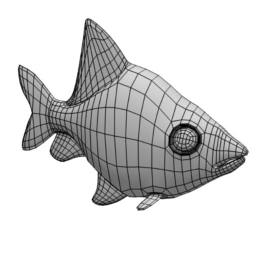 fish3 royalty-free 3d model - Preview no. 6