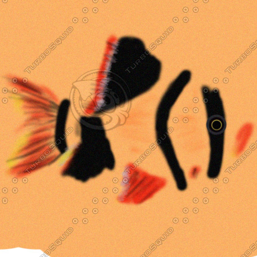 fish3 royalty-free 3d model - Preview no. 3