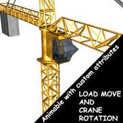 建設用クレーン 3d model