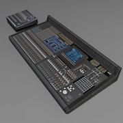 Mixer audio lowpoly 3d model