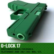 g锁枪 3d model