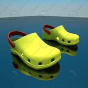 CROCS SHOES SANDALS 3d model