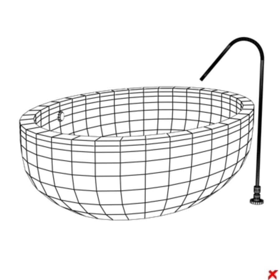 Bath015.ZIP royalty-free 3d model - Preview no. 3