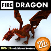 Дракон 3d model