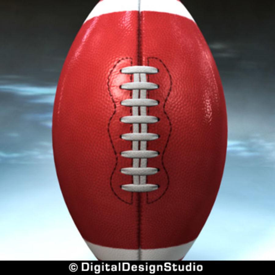 futbol amerykański royalty-free 3d model - Preview no. 6