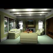 Chambre de famille 3d model