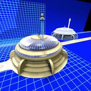 Radius Parking Lot 0172 01 3d model