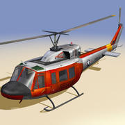 Rescue Helicopter ( Navy ) 3d model
