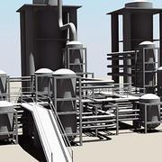 Industrial Instalations I 3d model