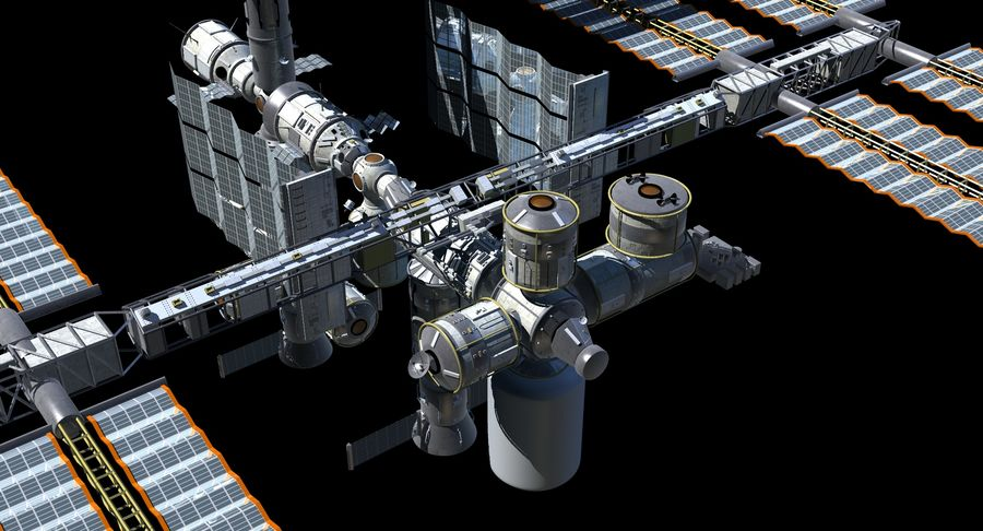Iss royalty-free 3d model - Preview no. 14