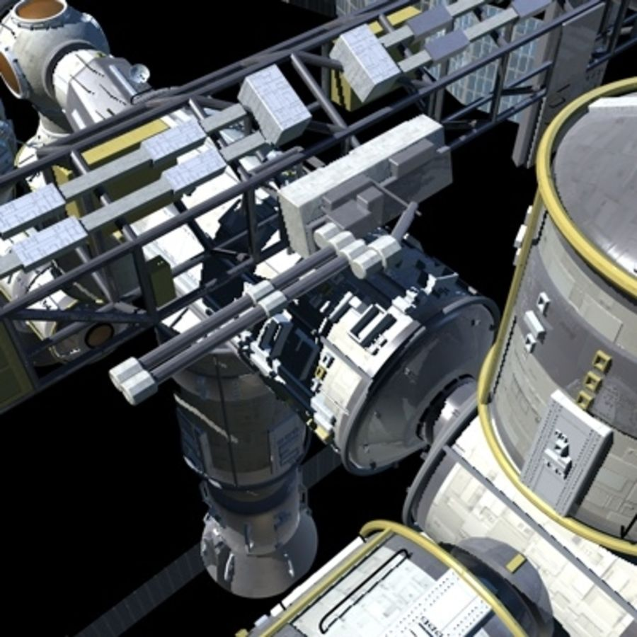 Iss royalty-free 3d model - Preview no. 15