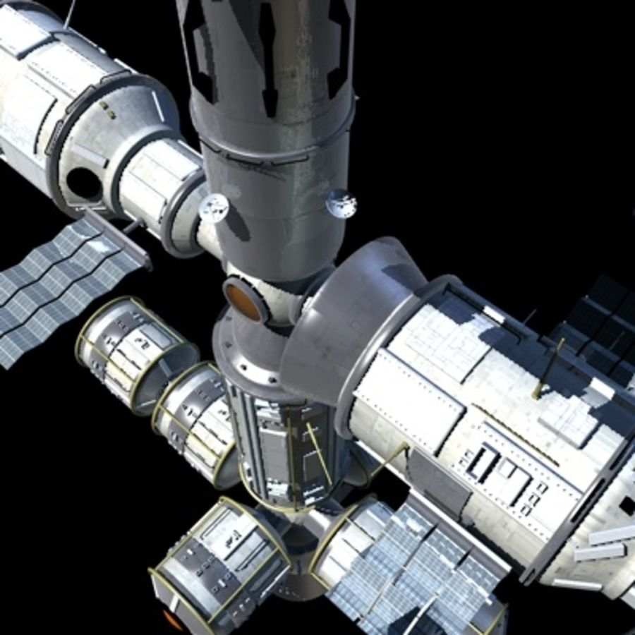 Iss royalty-free 3d model - Preview no. 21