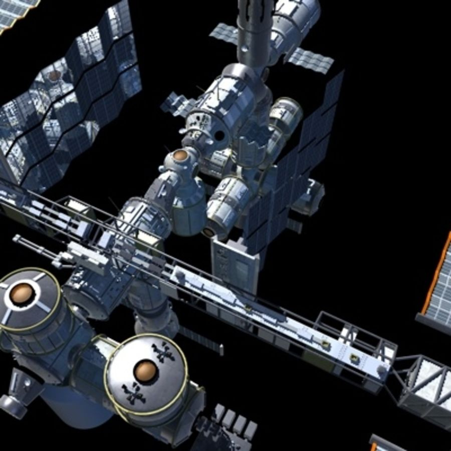 Iss royalty-free 3d model - Preview no. 18