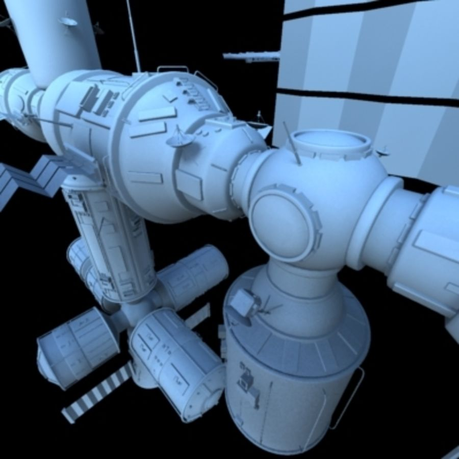 Iss royalty-free 3d model - Preview no. 24