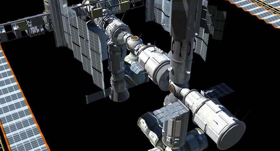 Iss royalty-free 3d model - Preview no. 10