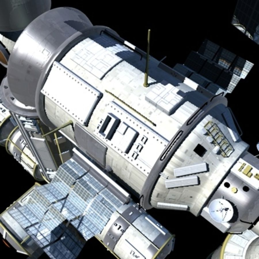 Iss royalty-free 3d model - Preview no. 20