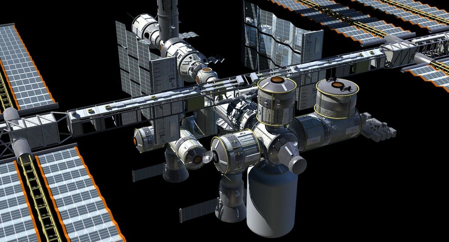 Iss royalty-free 3d model - Preview no. 2