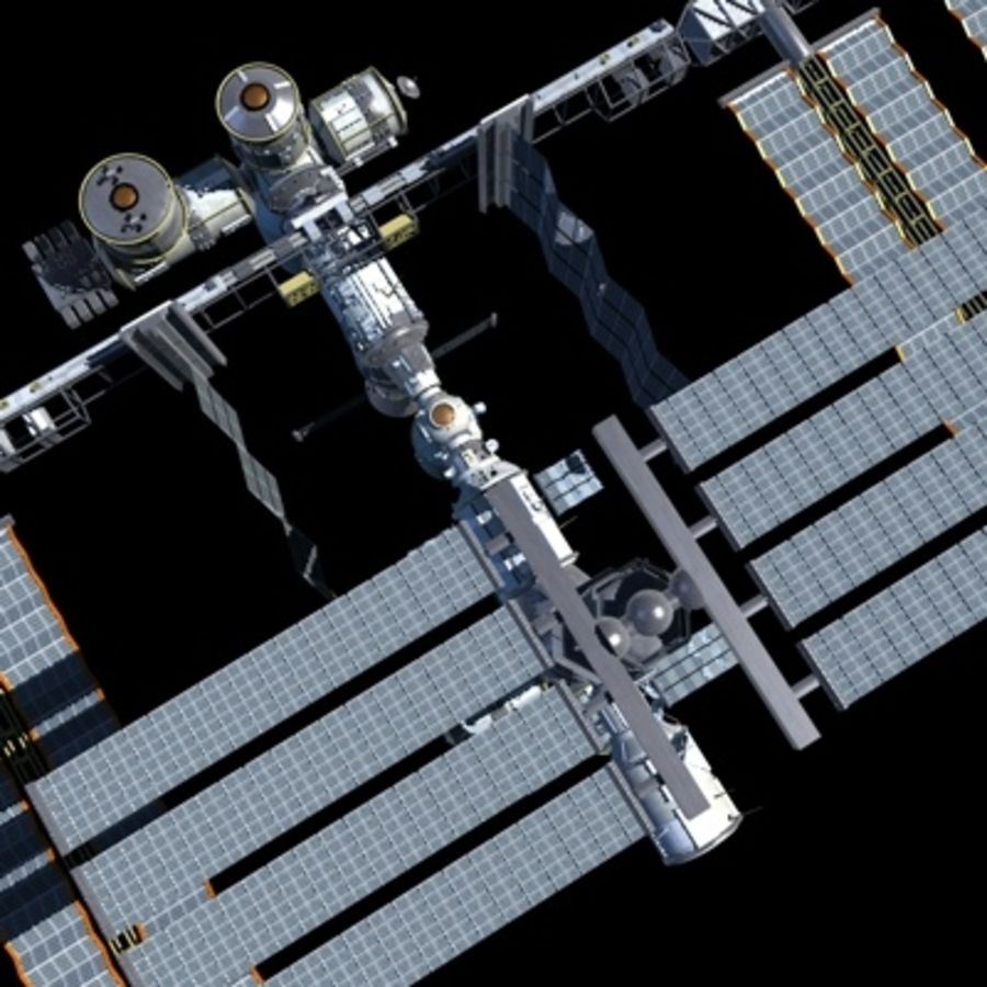 Iss royalty-free 3d model - Preview no. 22