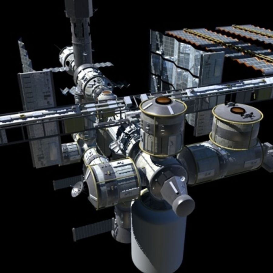 Iss royalty-free 3d model - Preview no. 17