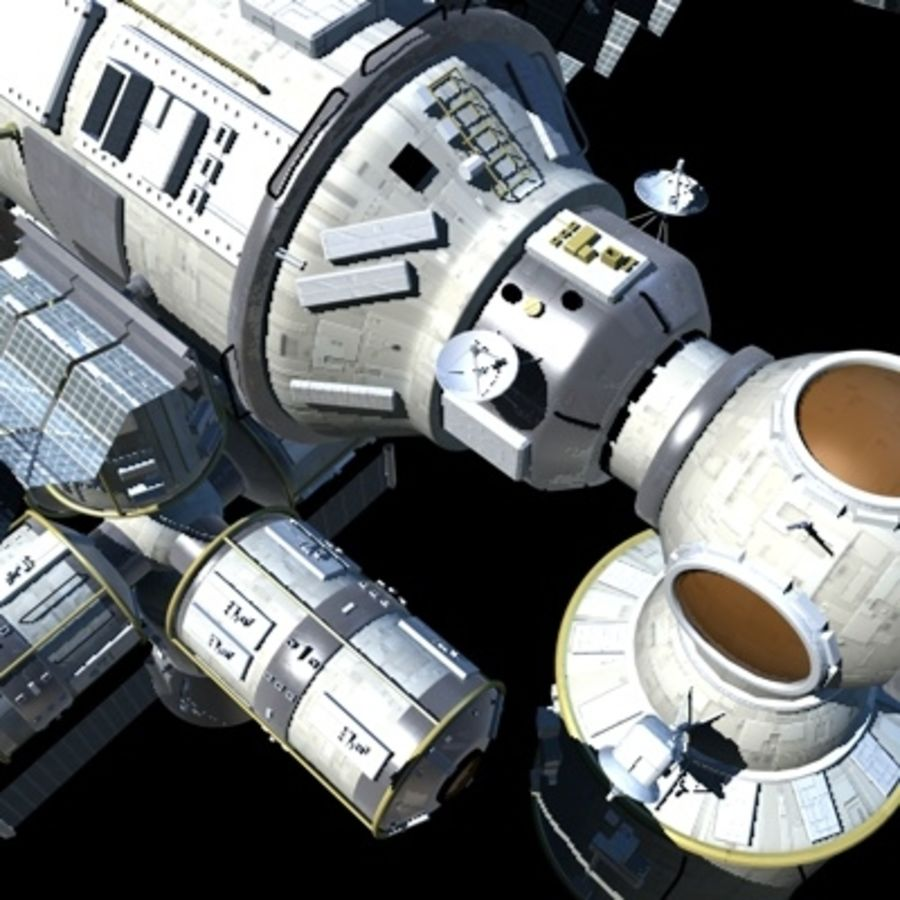 Iss royalty-free 3d model - Preview no. 19