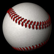 High Polygon Cinema 4D Baseball 3d model