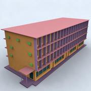 здание 011 3d model