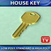 Hausschlüssel 3d model