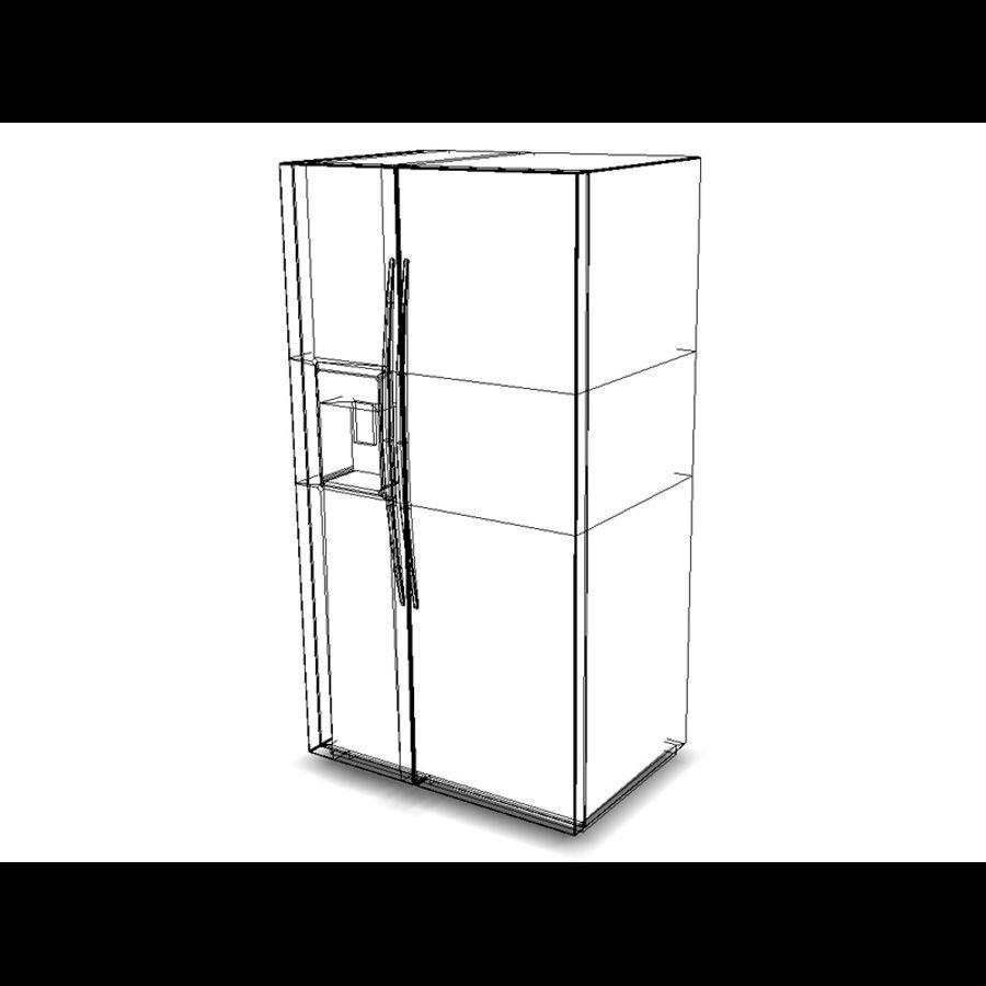 Refridgerator royalty-free 3d model - Preview no. 5