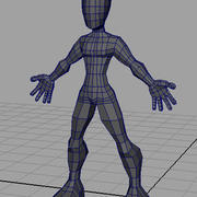 Zeichen / Base Mesh 3d model