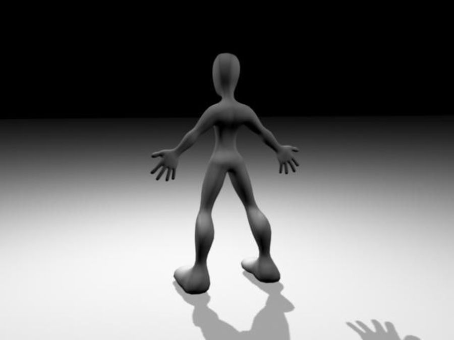 Character / Base Mesh royalty-free 3d model - Preview no. 2
