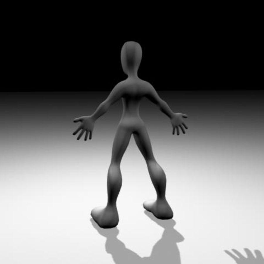 Character / Base Mesh royalty-free 3d model - Preview no. 1