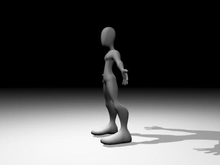 Caractère / Base Mesh royalty-free 3d model - Preview no. 4