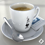 Bialetti coffee cup 3d model
