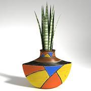 Vaso africano 3d model