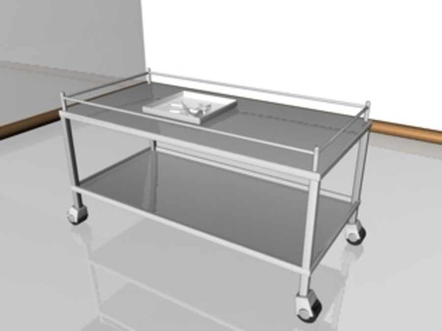 medische table.c4d royalty-free 3d model - Preview no. 1