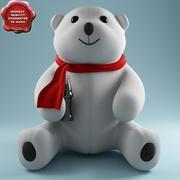 Niedźwiedź zabawka 3d model