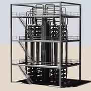 Torre Industrial 6 3d model