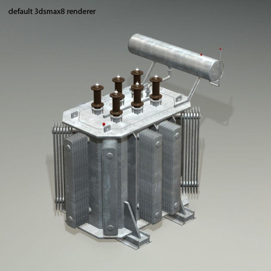 Transformer royalty-free 3d model - Preview no. 7