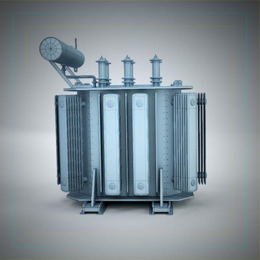 Transformer royalty-free 3d model - Preview no. 10