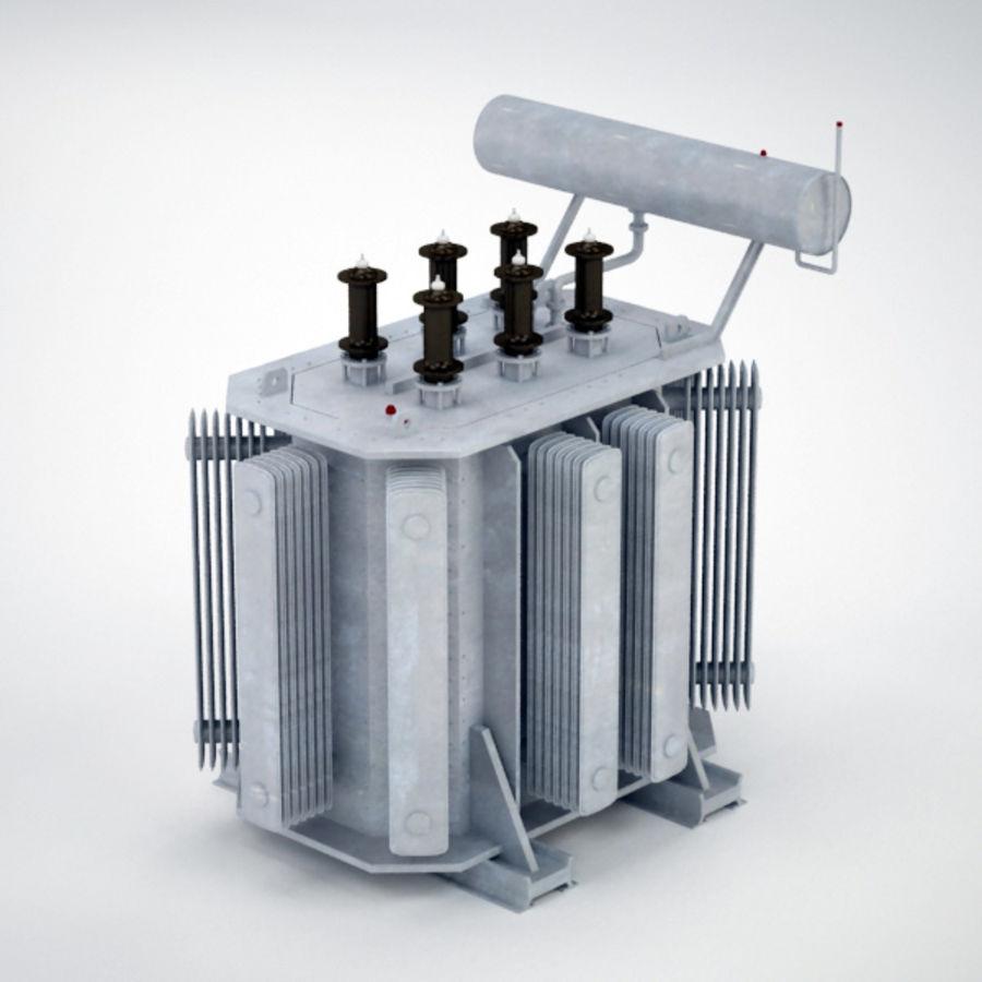 Transformer royalty-free 3d model - Preview no. 1