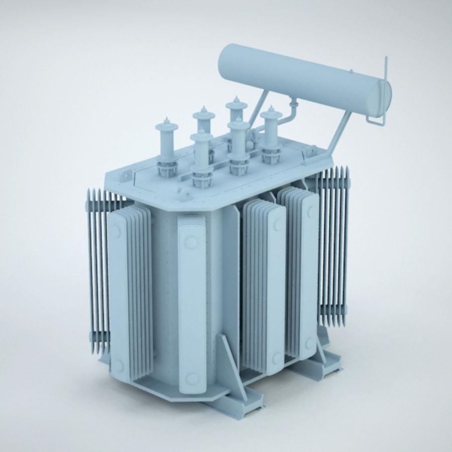 Transformer royalty-free 3d model - Preview no. 8